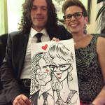 Caricaturista matrimonio - Federico Cecchin - Events Caricaturist30