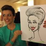 Caricaturista matrimonio - Federico Cecchin - Events Caricaturist38