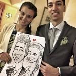 Caricaturista matrimonio - Federico Cecchin - Events Caricaturist39